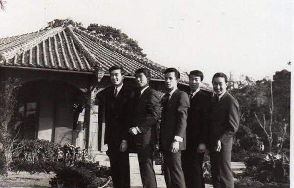 昭和40年3月の演奏旅行(長崎)